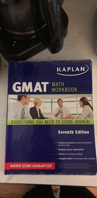 gmat Book Washington, 20015