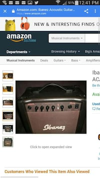 Ibanez acoustic guitar amp with all the attachment Los Angeles, 91324