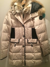 Real fur, duck down very warm winter coat for sale, Plateau-Montreal Montréal, H2W