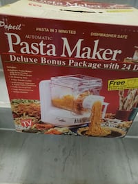 Pasta maker by Popeil West New York, 07093