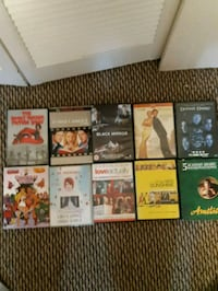 Lot of random dvds Burnaby, V5G 1G3