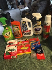 Assorted household cleaning products lot Lewisburg, 17837