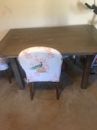 "Beautiful distressed dining table for sale. It's 60"" long!! Alexandria, 22312"
