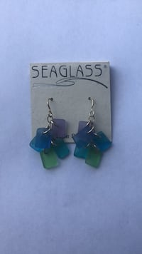 seaglass earrings Alexandria, 22304