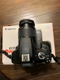 Canon EOS Rebel T6 Digital SLR Camera Kit with EF-S 18-55mm f/3.5-5.6  Mississauga, L5B 4A1