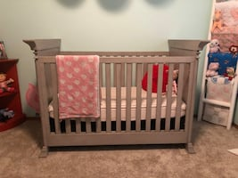 Grey Crib (boy or girl)