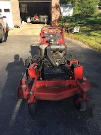 red and black zero-turn mower Alexandria, 22314