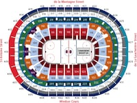 Montreal Canadiens Tickets / Billets  760 km