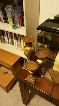 Set of candles stand for sale $25 without candles $30 with candles  Brampton, L7A 0S5
