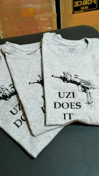"""UZI DOES IT"" T-SHIRTS FOR SALE. Richmond, 23220"