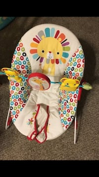 white, yellow, red and blue lion bouncer Edina, 55439