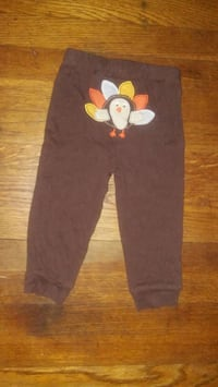 Carter's 2 Piece Mommy's Little Turkey Outfit