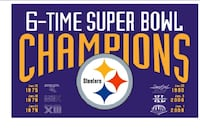 STEELERS LIMITED EDITION SB BANNER Colorado Springs, 80916