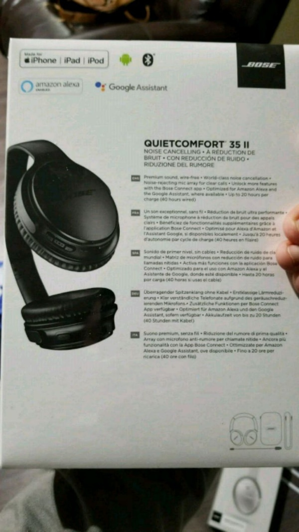 Bose quiet comfort q35 ii brand new and sealed