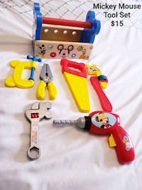 Mickey Mouse Tool Set - $15 Toronto, M9B 6C4