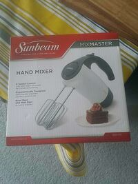 Sunbeam Mix Master hand mixer box Ottawa, K2E 6K6