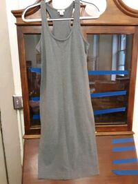 Gray tank Dress Medium