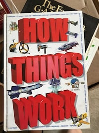 Large Hardcover book How things work  Alhambra, 91803