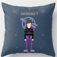 BIG BANG THEORY- HOWARD WOLOWITZ- DECORATIVE PILLOW COVER **PILLOW COVER ONLY!!!** Sarnia, N7T 1J2
