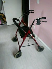 red and black rollator New Carlisle, 45344