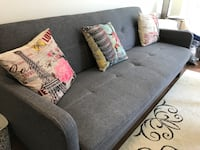 Gray futons sofa bed Toronto, M4P 0B2