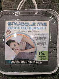 Brand new in package 15 lb weighted blanket Oshawa, L1J 5A1
