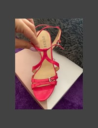 """""""Guess"""" brand pink strappy high heels Richmond Hill, L4C 3S1"""