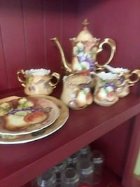 LEFTON CHINA HAND PAINTED tea set