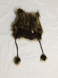 black and brown fur keychain New York, 10463