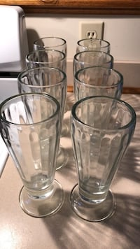 8 VINTAGE ROOT BEER FLOAT GLASSES ALL IN EXC CONDITION Littlestown, 17340