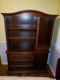 Dresser hutch with full bed Maple, L6A