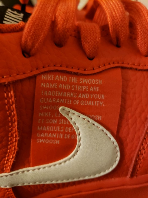 Red Overbranding NIKE AF1 size 10 580fc2f6-7241-4648-9718-4cbcd9903f7a