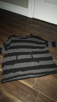 gray and black striped sweater Lower Sackville, B4E 3A2
