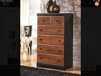 New 5 Drawer Chest by Ashley Madison, 35756