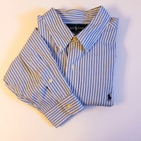 Ralph Lauren Striped Button Down Classic Fit XL Noblesville