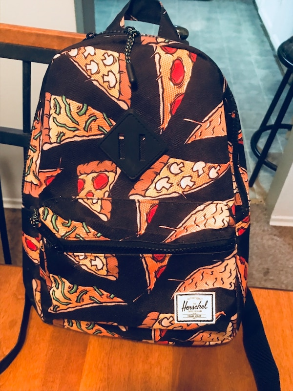dceed1acbfd8 Brukt Herschel Supply Co. Black Pizza Heritage Youth Bac til salgs i ...