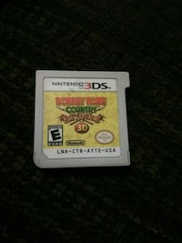 Donkey Kong country returns 3ds game Summerville