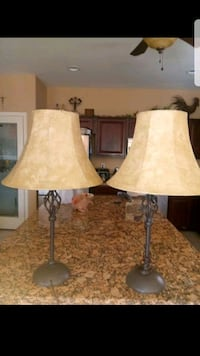 two black and white table lamps Avondale, 85323