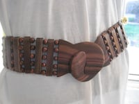 Brand New Unique Fashion All Wooden Belt - One Size