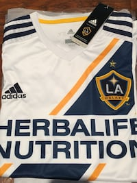 white and blue Adidas jersey shirt San Diego, 92014