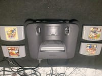 Nintendo 64 and games with controller