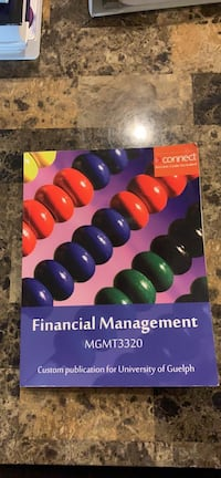 Financial management for MGMT 3320 Mississauga, L5M 0E8
