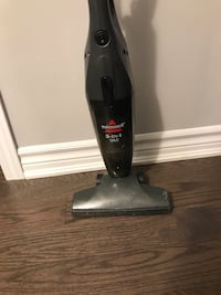 black and gray upright vacuum cleaner Brampton, L6V