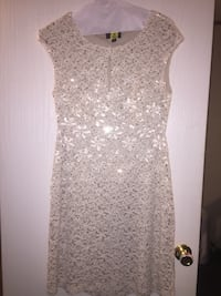 White and Gold dress !  Broadway, 27505
