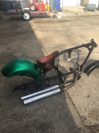 Pro street chopper 300 RSD with fenders and titles (Red Barron ) East Brunswick, 08816