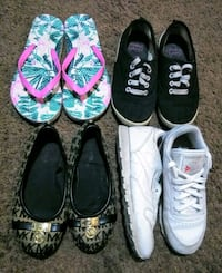 Girls sz 13 shoe lot Bakersfield, 93308