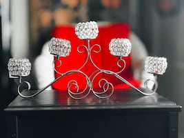Bling 5 Arm Candle holder