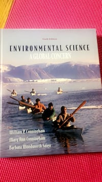 Environmental Science by William Cunningham book Riverdale Park, 20782