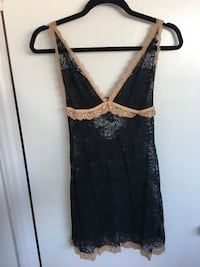 black and gray floral sleeveless dress Toronto, M1G 3P7