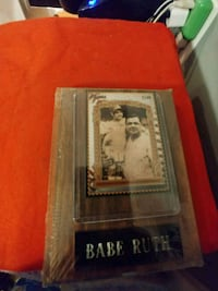 Babe Ruth  Frederick, 21702